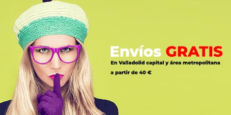 Envio Gratis en Valladolid capital y área metropolitana